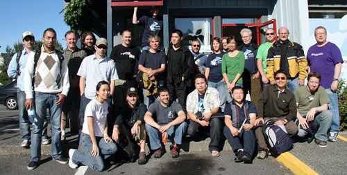 Drupal Camp Victoria 2008 Group Shot