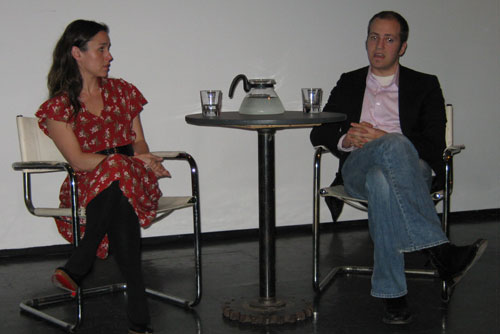 Kaleena Kiff and Ryan Coople at What's Going On Salon